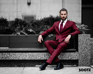 Premium Men's Custom Tailored Suits 50% in the GTA!