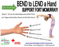 YOGA/ZUMBA - BEND to LEND a Hand - Support Fort McMurray!