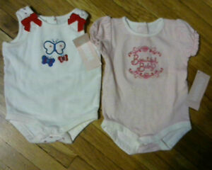 Baby Girls Bodysuits from Gymboree.[new] 0-3 month [ 80% off]