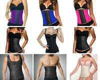 Steel Boned Latex Waist Trainer Cincher Corset
