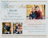 Fall is here! Session with Kearley Photography