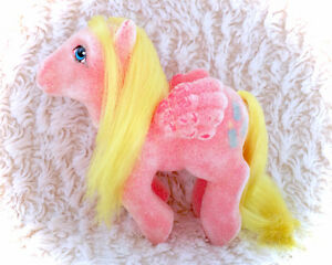 Vintage G1 My Little Pony Best Wishes So Soft Pegasus 80s Hasbro