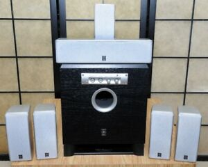 HP cinéma maison YAMAHA speakers NX-S120 series + Sub YST-SW015