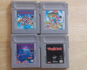 Set of Four GBA Game Boy Games (selling as lot)