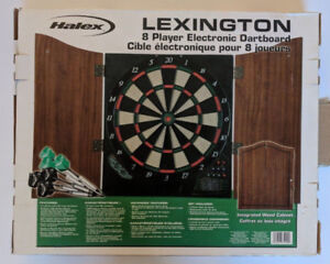 DARTS! Electronic Dart Game-8 player- NEW in BOX
