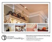 crown moulding installation in Ottawa / Gatineau