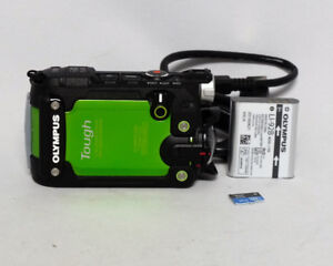 Olympus Stylus Tough TG-TRACKER Action Camera Green 4K $325