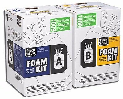 Touch N Seal Spray Foam Insulation Kit 600 Bf - Slow Rise Fr