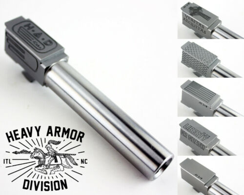 G23 Barrel (Match Grade) .40 S&W - Stainless, Custom Engraved, Fits Glock & P80