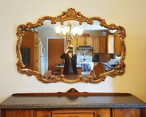"Beautiful Ornate Mirror - 56"" x 39"""