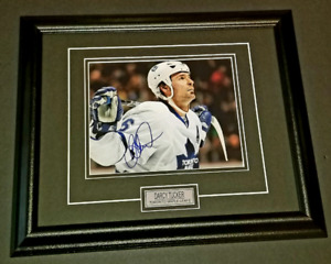 Darcy Tucker Autographed Maple Leafs 8x10 Framed