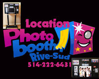 location photobooth (machine a photo souvenir)