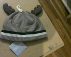 Baby Boy Moose Antler Beanie from Gymboree.