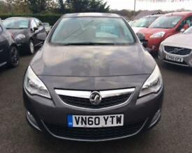 2011 60 VAUXHALL ASTRA 1.6 EXCLUSIV 5D 113 BHP