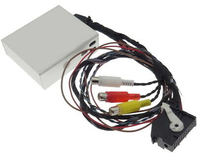 Multimedia Adaptador RNS510 MFD3 Audi VW Vídeo TV Dvb-T DVD Cable Enchufe
