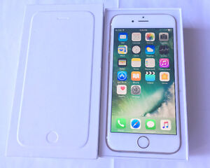 Apple iPhone 6 16GB Gold Bell and Virgin Like New in Box $325