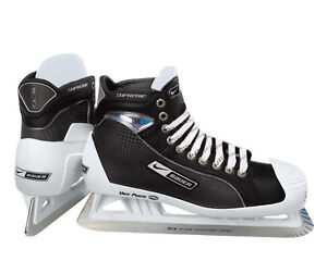 Bauer one75, one95 or one55 goalie skates. Size 9 or 9.5