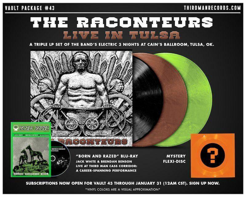 The Raconteurs Third Man Records Vault 43 Live in Tulsa LP Vinyl