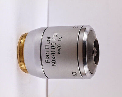 Reichert Plan Fluor 50x .80 Epi Ik M28 Dry Infinity Microscope Objective