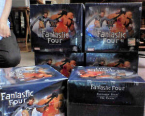 6 boites Fantastic Four trading card game 2 player starter deck