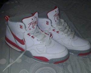Nike Air Flight 2013 White/Red Size 13