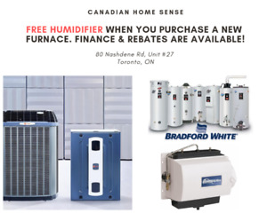 Furnace AC Water Heater - Finance Available
