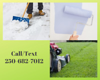 Lawn Care and Odd Jobs   Reasonable Rates