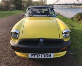 1980 MG MGB 1.8 ROADSTER 2D