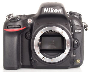 Nikon D600 full frame FX 24 MP