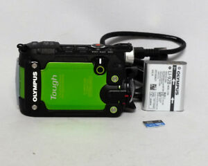 Olympus Stylus Tough TG-TRACKER Action Camera Green 4K $275