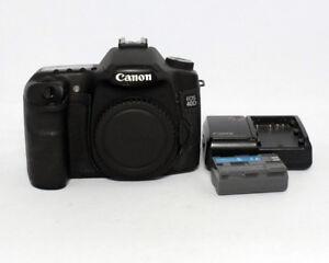 Canon EOS 40D 10.1MP DSLR camera body CB-5L BP-511A $150