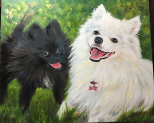 OIL PAINTINGS OF YOUR PET DOGS