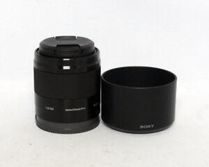 Sony SEL50F18 50mm 1:1.8 OSS Black E Mount MINT $250.00 CAD