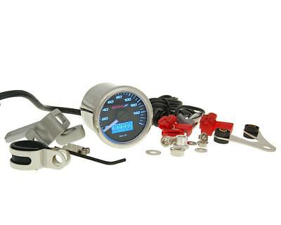 TACHOMETER GP STYLE KOSO D48 MAX 160 KM  H FUEL GAUGE AND MORE