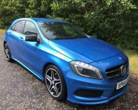 2014 64 MERCEDES-BENZ A CLASS 1.5 A180 CDI BLUEEFFICIENCY AMG SPORT MAP PILOT 5D