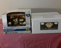 2 ceiling lights and 1 Glacier bay brass bathroom faucet
