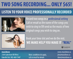 Save up to 80% on Recording Servces in Pro Studio Cambridge Kitchener Area image 3
