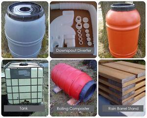 Rain Barrels, Composters, Diverters & More TRUCKLOAD SALES