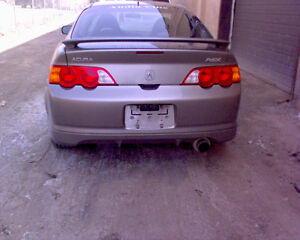 2002 Acura RSX DC5 for PARTS! Grey in color!