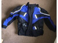 JTS Motorcycle Gear Jacket Size XS Small