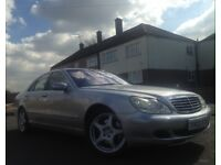 Mercedes S500 FACELIFT! Beautiful Bird, Keyless Go! MOT 08/2018 Soft Closed Doors 157,000 ONO