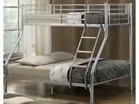 Bunk bed newly new with mattresses