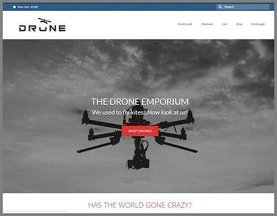 Uav Drones Website Earn 392.00 A Salefree Domainfree Hostingfree Traffic