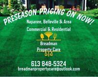 Breadman Property Care lawn & garden maintenance