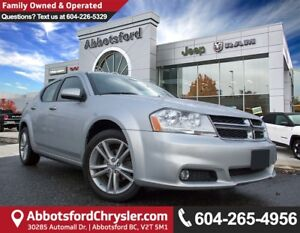 2011 Dodge Avenger SXT *ACCIDENT FREE* *LOCALLY DRIVEN*