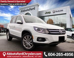 2017 Volkswagen Tiguan Highline *ACCIDENT FREE* *LOCALLY DRIVEN*