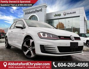 2016 Volkswagen Golf GTI 3-Door Performance *ACCIDENT FREE* *...