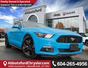 2017 Ford Mustang EcoBoost *ACCIDENT FREE* *LOCALLY DRIVEN*