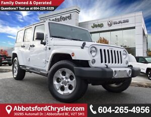 2015 Jeep Wrangler Unlimited Sahara *ACCIDENT FREE* *LOCALLY...