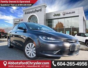 2015 Chrysler 200 LX *ACCIDENT FREE* *PROXIMITY ENTRY*